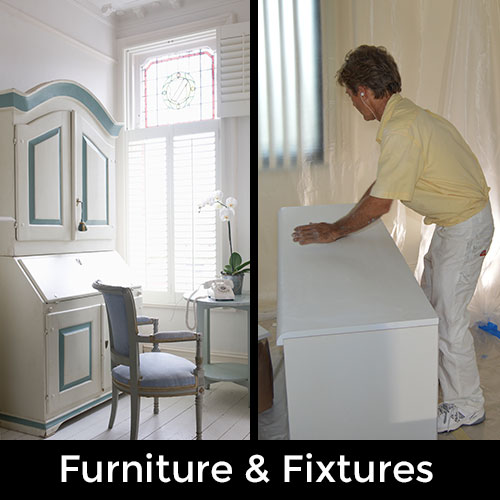 Furniture and Fixture Master Painters Ted Roorda