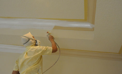 Spraying Master Painters