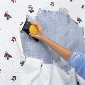 Wall Paper Removal services by Master Painters