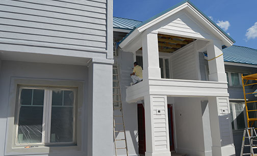 House repaint Master Painters Ted Roorda